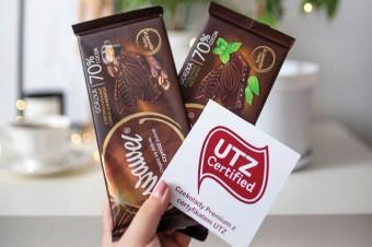 Czekolady Premium marki Wawel z certyfikatem UTZ