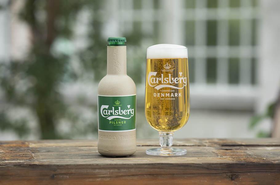 Grupa Carlsberg odsłania kolejny etap prac nad Green Fibre Bottle