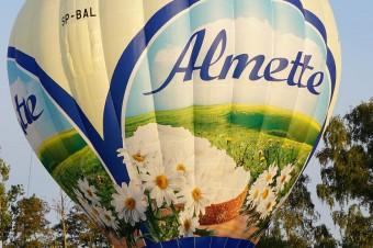 Balon Almette wyrusza w świat!