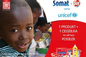 Marki Somat i Pur wspierają globalny program dożywiania UNICEF