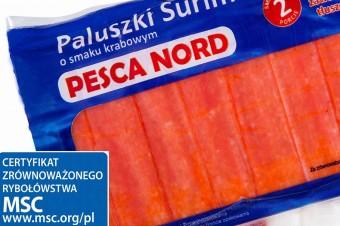 Paluszki Surimi od PESCA NORD z certyfikatem MSC