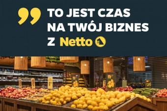 """Netto z ofertą dla przedsiębiorców i instytucji. Rusza karta klienta """"Czas na biznes"""""""