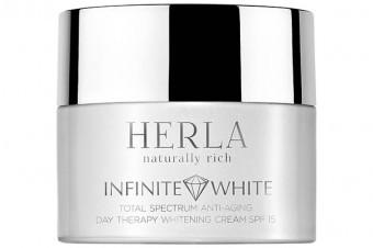 Herla Infinite White przeznaczona do pielęgnacji skóry z przebarwieniami i nierówną pigmentacją