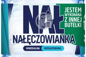 Pierwsza na polskim rynku butelka 1L z 50% zawartością plastiku z recyklingu