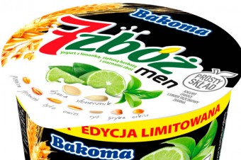 Edycja limitowana jogurtu dla mężczyzn