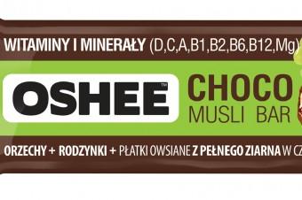 Sycące przekąski – pierwsze batony musli w całości oblane czekoladą
