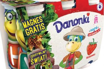 Fascynująca przygoda z Danonkami w egzotycznym świecie zwierząt