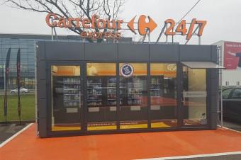 Carrefour otworzył w Warszawie innowacyjny sklep samoobsługowy w formacie convenience