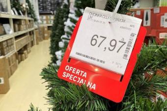 Polacy ruszą po choinki głównie do sklepów DiY