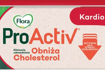 Flora ProActiv – 100% roślinny skład i działanie obniżające cholesterol