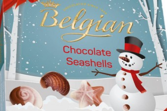 The Belgian w świątecznych opakowaniach