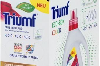 Ekologiczny płyn do prania Triumf Eco-Box Color