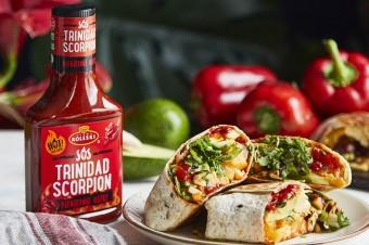 Burrito z sosem Roleski Trinidad Scorpion