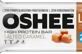 2 nowe smaki batonów proteinowych OSHEE