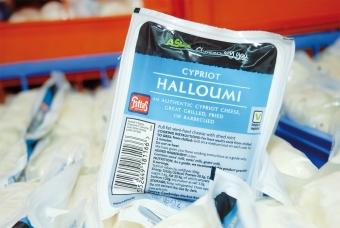 Cypr o smaku sera Halloumi